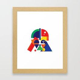 The Shape Side Framed Art Print