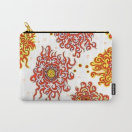 Hand drawn pattern design - Nairobi Carry-All Pouch