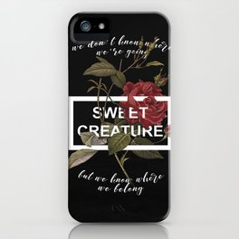 Harry Styles Sweet Creature iPhone Case