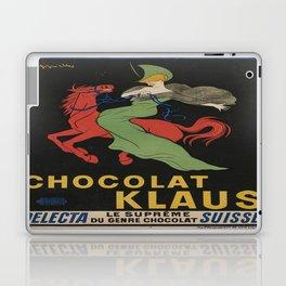 Vintage poster - Chocolat Klaus Laptop & iPad Skin
