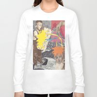 kids Long Sleeve T-shirts featuring Kids by collageriittard
