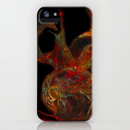 Crazy Vases, Abstract iPhone Case