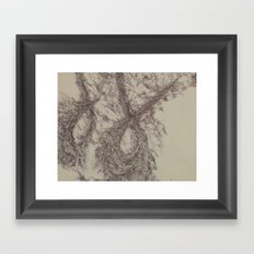 Yael-base linkage2 Framed Art Print