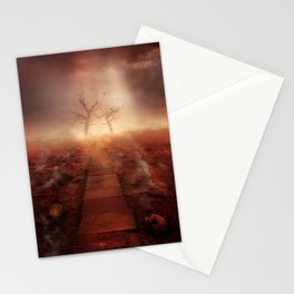 The path of the dead Stationery Cards