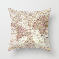 An Accurate Map Throw Pillow