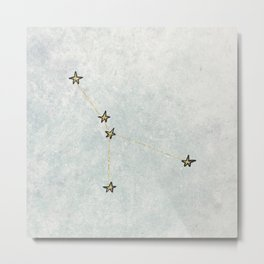 Cancer x Astrology x Zodiac Metal Print