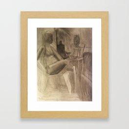 Studio Girls Framed Art Print