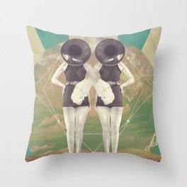 UNIVERSOS PARALELOS 005 Throw Pillow