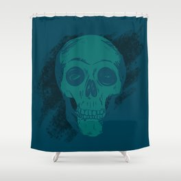 Skull Together Now Shower Curtain