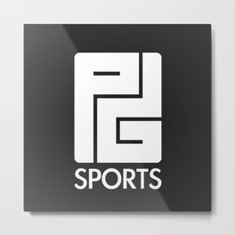 PG Sports (Black) Metal Print