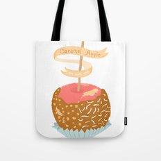 Caramel Apple om nom nom Tote Bag