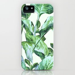 Isolde Leaves II iPhone Case