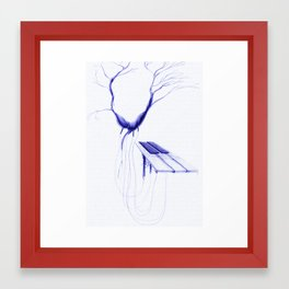 natural music Framed Art Print