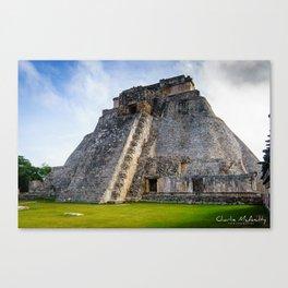 Uxmal Yucatan Mexico Canvas Print