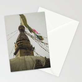 Exploring the City of Kathmandu in Nepal Stationery Cards