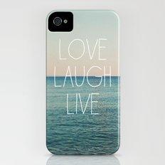 Love Laugh Live #2 iPhone (4, 4s) Slim Case