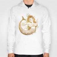 mermaid Hoodies featuring Mermaid by Vlad Stankovic
