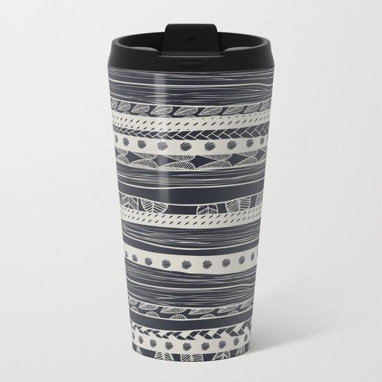 aztec Metal Travel Mug