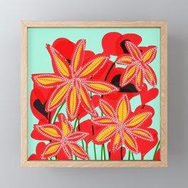 Hearts and Flowers 2 Framed Mini Art Print