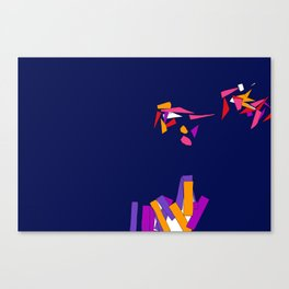 Fragmentation 3 Canvas Print