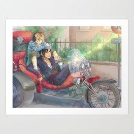 Kuroo Tetsuroo and Kenma Kozume Art Print