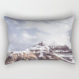 Mountain and Sky Jasper Minimalism Rectangular Pillow