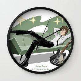 Lounging John Wall Clock