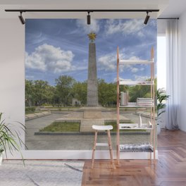 Soviet War Graves And Memorial Budapest Wall Mural