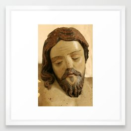 The Christ Framed Art Print