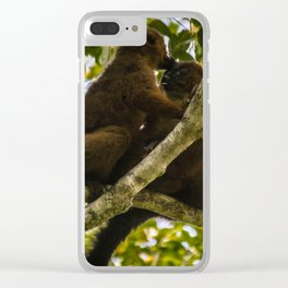 Kisses in the Wild Clear iPhone Case