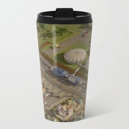 Biogas City Metal Travel Mug