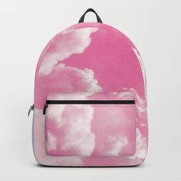 Retro cotton candy clouds Backpack