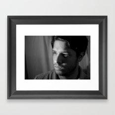 Spanish Stare Framed Art Print