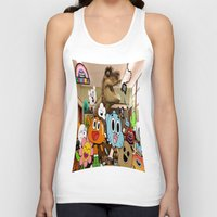 gumball Tank Tops featuring GUMBALL by rosita