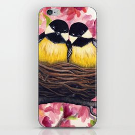 Chickadees iPhone Skin