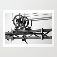techno Art Prints featuring Techno? by Let's make it happen