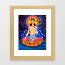 Tara raindrop Framed Art Print