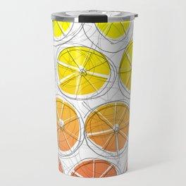 Red Lemonade Travel Mug