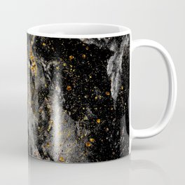 Galaxy (black gold) Coffee Mug