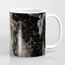 Galaxy (black gold) Coffee Mug