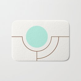 Balm 05 // ABSTRACT GEOMETRY MINIMALIST ILLUSTRATION by Bath Mat