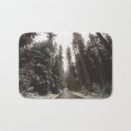 Redwood Forest Adventure II - Nature Photography Bath Mat