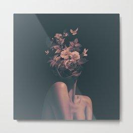 Dead Flowers Metal Print