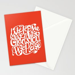 We're Glad You're Here (KETCHUP) Stationery Cards