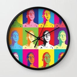 Coriolanus pop-art Wall Clock
