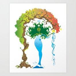 Gaea Art Print