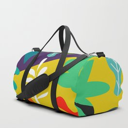Tropical in two parts Duffle Bag