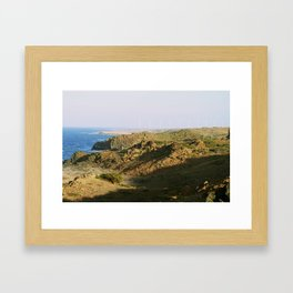 Natural Pool Framed Art Print