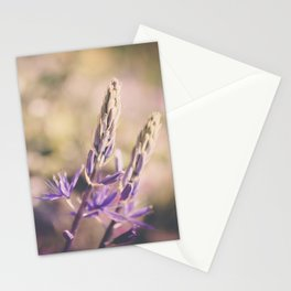 Purple Lupine Stationery Cards