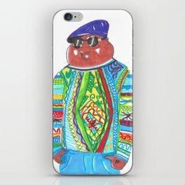 Biggie (aka Cleveland) Wearing Coogi iPhone Skin